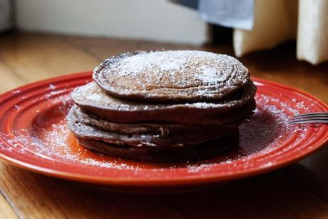 Chocolate Nutella Pancakes