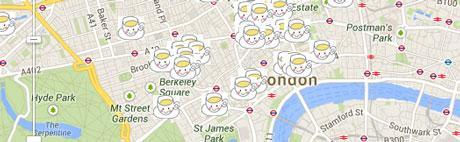 Tea Map of London