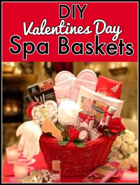 Valentines Day Spa Baskets U2013 DIY Tips And Ideas
