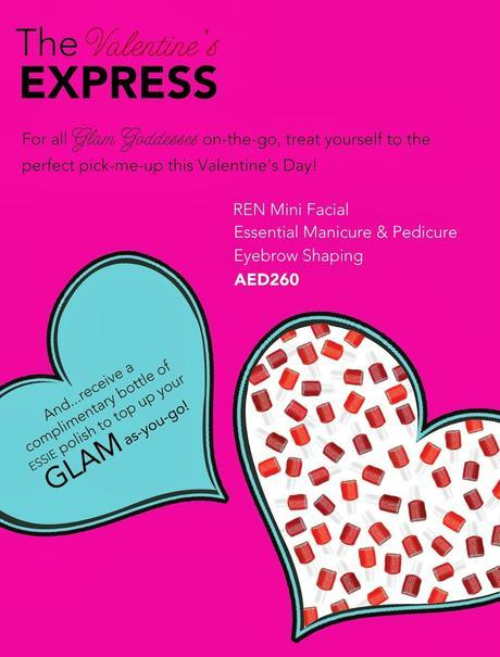 Beauty Buzz: The Valentine's Express Package At N.Bar