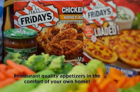 T.G.I Friday's Appetizers; saving busy women one game at a time.