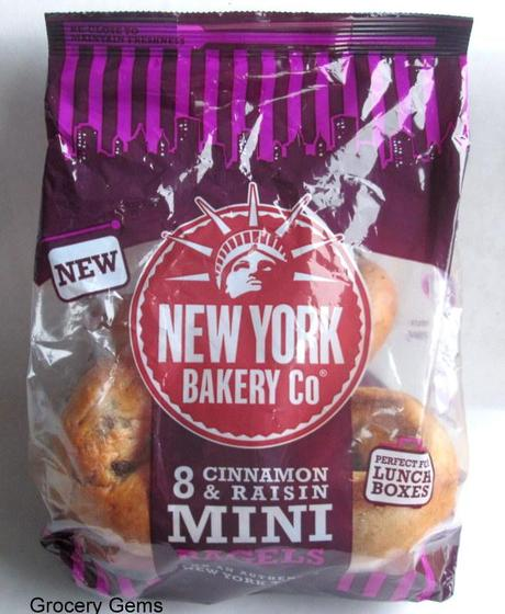 New! Mini Bagels from the New York Bakery Co.