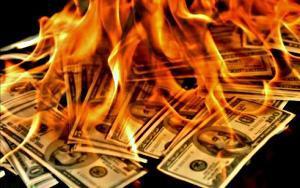 DollarsBurning1