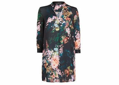 Pick Of The Day: Floral Print Shirt Dress