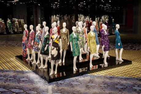 DVF Journey of a Dress Exhibit at LACMA