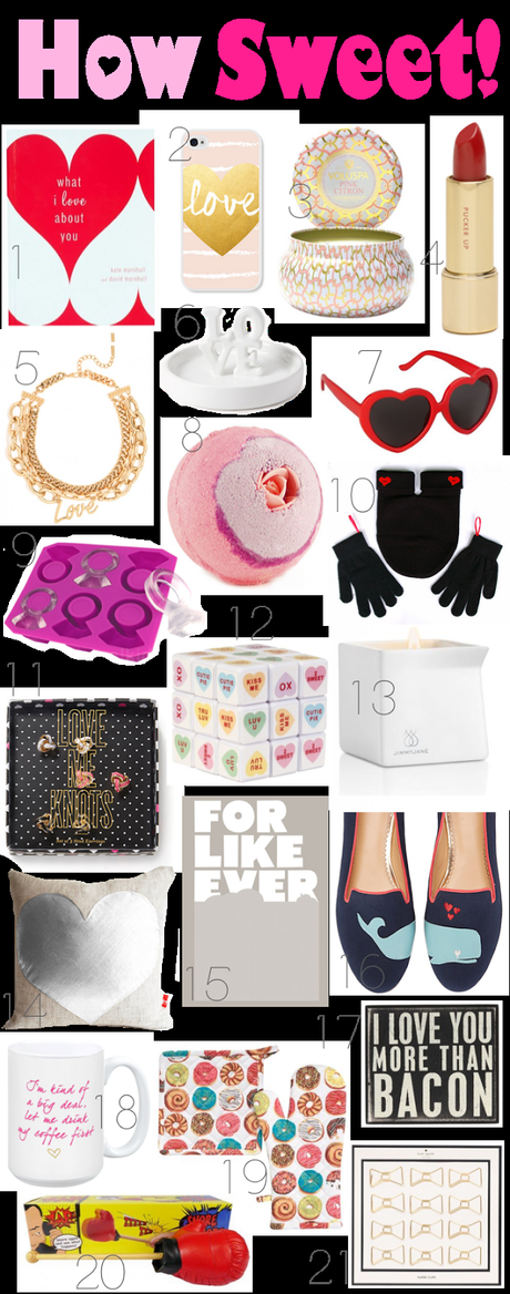 Aren't You Sweet: A Valentine's Day Gift Guide