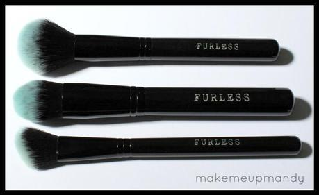 Furless Black Beauty Make Up Brush Set: Review and Photos