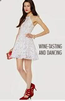 What to wear on the day of wine-tasting and dancing