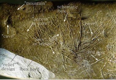 The rock itself