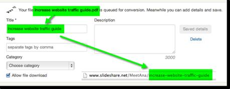Slideshare presentation slug