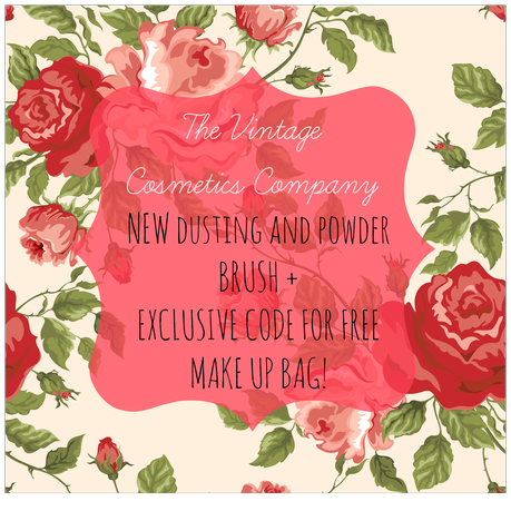 New Brush Release - The Vintage Cosmetics Company