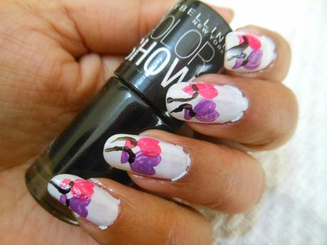 Valentine's Day Nail Art Tutorial (Vol. 2) : Flying Hearts