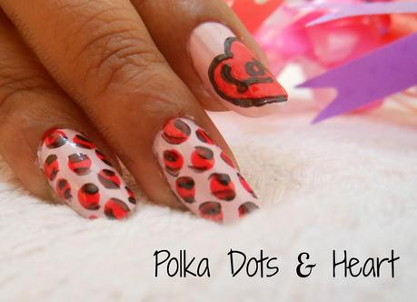Valentines Day Nail Art Tutorial Vol 3 Polka Dots Heart