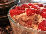 Funfetti Strawberry Cheesecake Trifle #SundaySupper