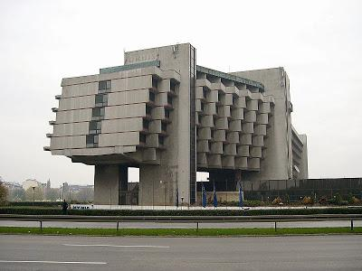 Brutalist Architecture and Soc Realism in Krakow