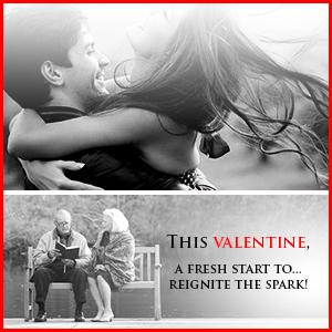 This Valentine a fresh start