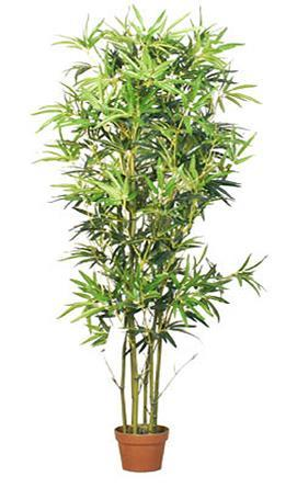 decorating with artificial bamboo silk plants paperblog