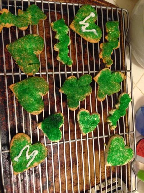 Wholly Half-Assed Valentines Day Cookies