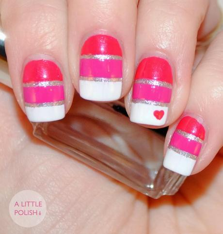 Twinsie Tuesday: Valentines Day Nails