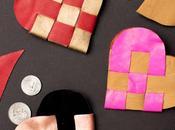 Make Woven Danish Heart Pouch