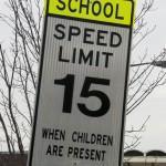 No speeding zone