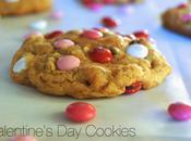 Valentine's Chocolate Chip M&M Cookies