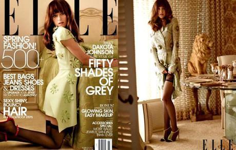 Dakota Johnson ELLE  Cover