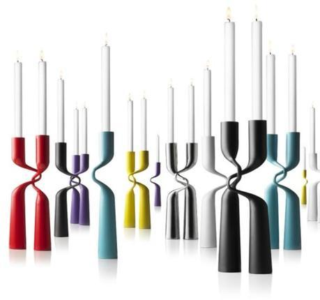 Double Candle Holder in Assorted Colors design by Menu
