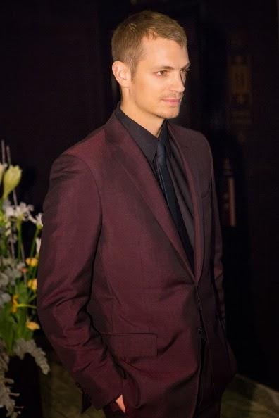 Joel Kinnaman wears Ermenegildo Zegna to the Stockholm première of Robocop