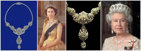Nizam of Hyderabad Necklace by Cartier for Queen Elizabeth