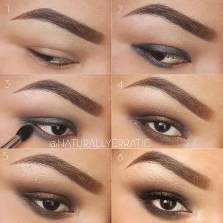 123easy brown smokey eye makeup tutorial  paperblog