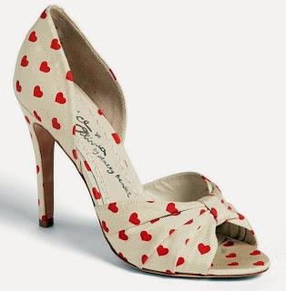 Shoe of the Day | Alice + Olivia Gigi Heart Print d'Orsay Pump