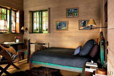 Dacha bedroom