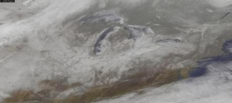 Impressive Satellite Picture of Major Winter Storm Reveals an Unusual Figure