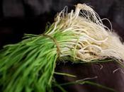 CHANA DAL, MATAR HARA LEHSUN PULAO (Spring Garlic, Split Bengal Gram Pilaf)