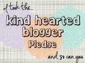 Kind-hearted Blogger's PLEDGE