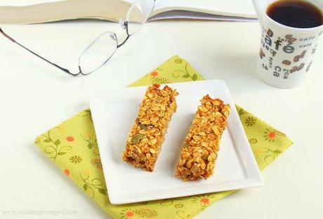 Granola Pumpkin Bars (Vegan)