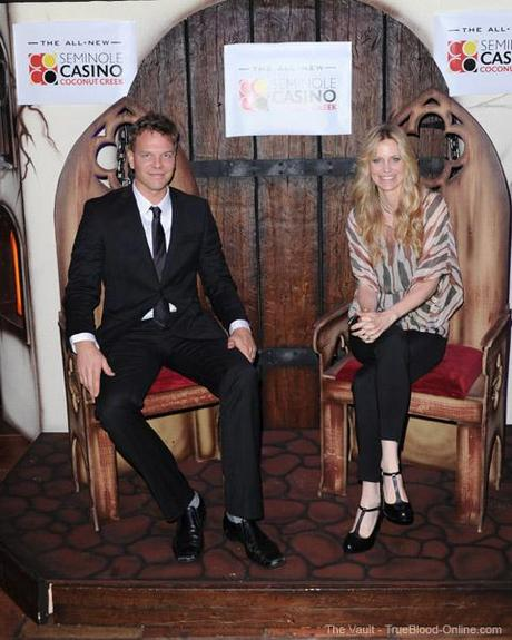 Kristin Bauer and Jim Parrack at Seminole Casino Coconut Creek