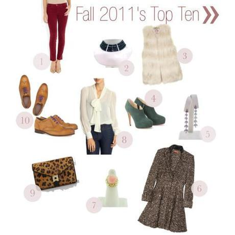 Top 10 Trends of Fall 2011