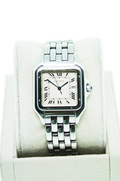 Cartier Panther Large Stainless Steel W25054P5 Gents Watch