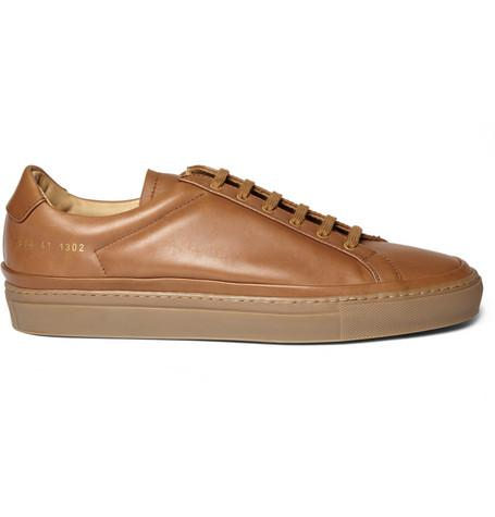 Commmon Projects Premium Achilles Leather Sneakers