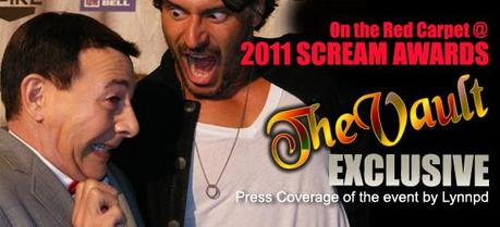 The Vault's Exclusive Coverage of 2011 Scream Awards Red Carpet