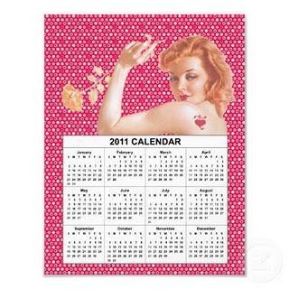 One Unhappy Calendar Girl
