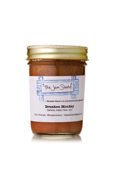 The Jam Stand Jams! – Drunken Monkey and Blueberry Bourbon