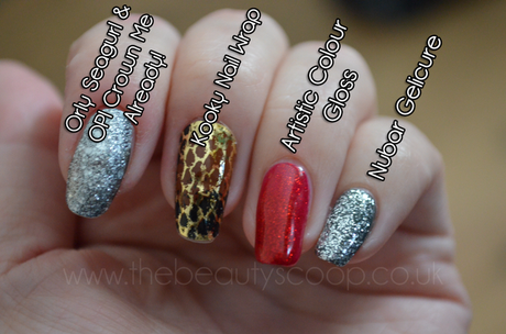 A Few Gel Nail Swatches & A Kooky Nail Wrap From Pro Beauty North 2011!