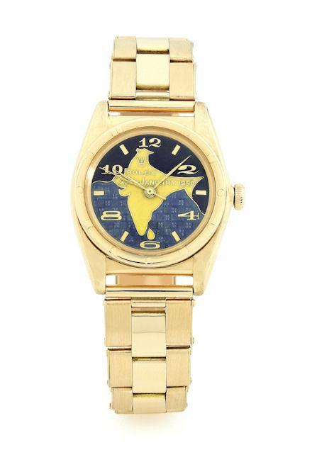 Dr. Rajendra Prasad, Rolex, Sotheby's, Auction, Rolex Oyster Perpetual