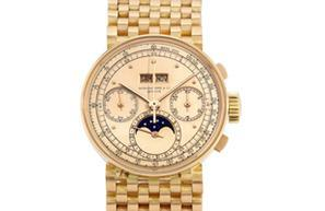 Sotheby's, patek philippe, chronograph, raymond lee jewelers, auction