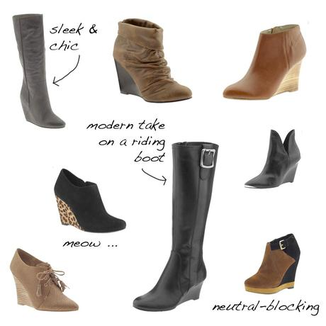 Design: Wear This Now – Wedge Boots
