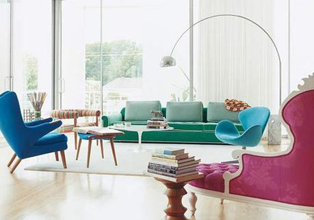 BRIGHTS + WHITES: Pick-Me-Up Spaces