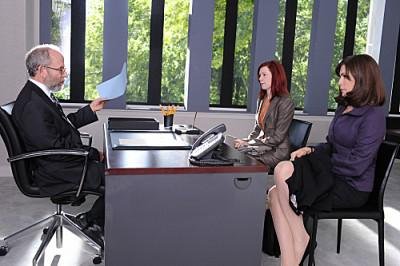 Photos of Carrie Preston on 'The Good Wife'